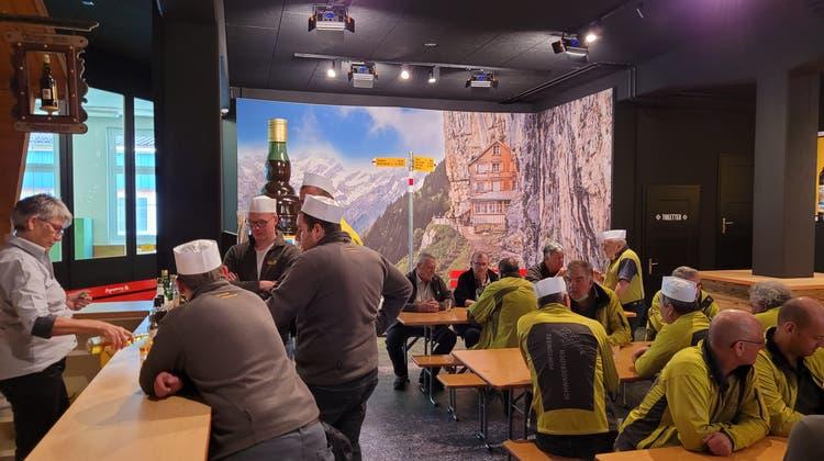 Vereinsreise Pontoniere Schwaderloch ins Appenzellerland / Toggenburg