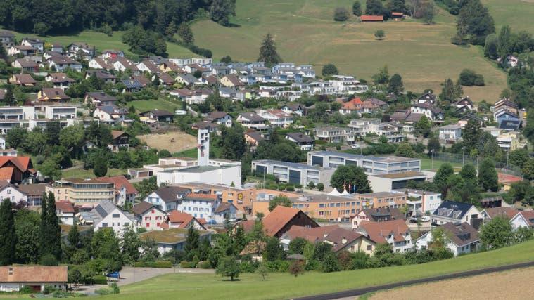 Wo in Rudolfstetten könnten noch hohe Gebäude entstehen? Und wo sicher nicht? Das Räumliche Entwicklungsleitbild zeigt das auf. (Marc Ribolla)