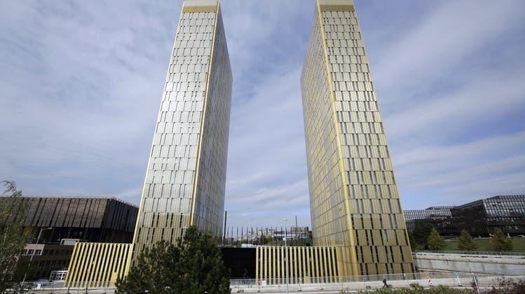 Stein des Anstosses: Der Europäische Gerichtshof in Luxemburg. (Keystone)