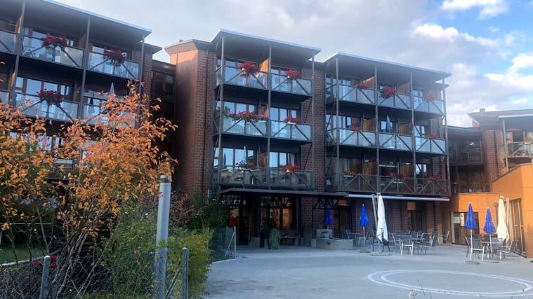Das Alters- und Pflegeheim Unteres Seetal in Seon. (Anja Suter)