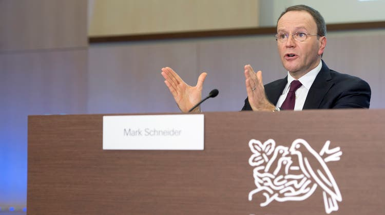 Nestlé-Chef Mark Schneider unterzieht den Konzern einer Reorganisation - mit pikanten Folgen für arrivierte Manager. (Laurent Gillieron / KEYSTONE)