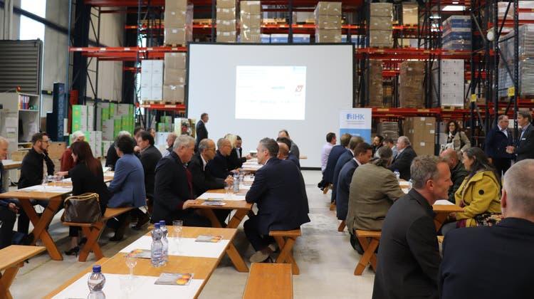 Die AIHKRegion Brugg zählt zu den neun Regionalgruppen der Aargauischen Industrie- und Handelskammer. (Maja Reznicek)