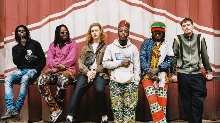 Produzieren königlichen Techno: die Bandmitglieder von Nihiloxica. (zvg/Will Leeming)