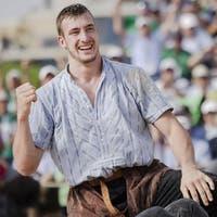 Kilchberg-Sieger Damian Ott ist der Favorit am 23. Olma-Schwinget