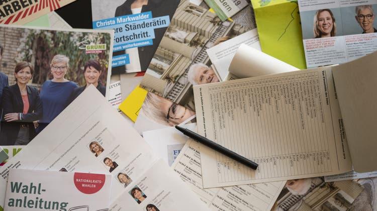 Das Forschungsinstitut Sotomo hat die Stimmung bei den Wählerinnen und Wählern zur Legislatur-Halbzeit abgefragt. (Symbolbild) (Keystone)