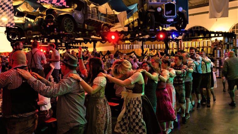 600 Gäste feierten letztes Wochenende in Rheinfelden. (Bild: zvg)