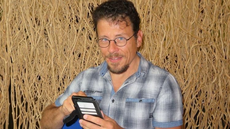 Der Bremgarter Franky Weber verzichtete eine Woche lang aufs Handy. Eine Erfahrung, die er jedem empfehlen würde. (Marc Ribolla)