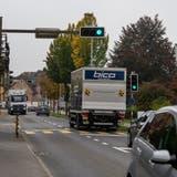 Die Seetalstrasse in Emmen ist derzeit stark verkehrsorientiert. (Dominik Wunderli (Emmen, 14. Oktober 2021))