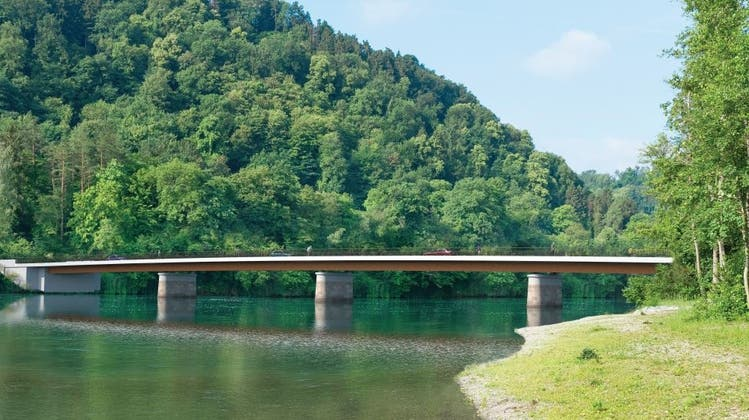 Neu soll die Brücke 17,4 Millionen Franken kosten. (Baudirektion des Kantons Zürich)