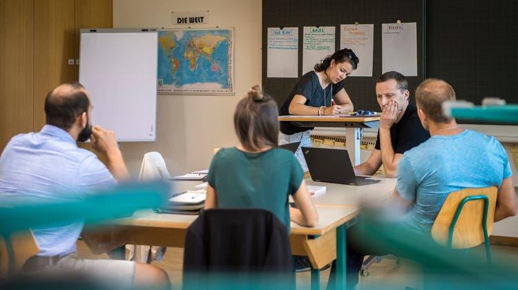 Der Unterricht soll künftig handlungskompetenzorientierter werden. (Symbolbild) (Reto Martin)
