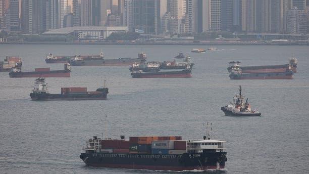 Terminali Kwai Tsing nel porto di Hong Kong.  Il volume delle vendite di merci qui è diminuito del 9,5 percento nel quarto trimestre del 2021 rispetto al 2019.