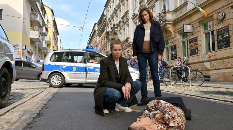 «Tatort» aus Dresden: «Unsichtbar». Sonntag, 17. Oktober 2021, 20.05, SRF 1. (Bild: Das Erste)