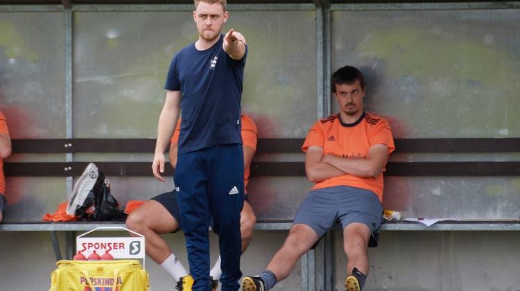 Die Formkurve des FC Lommiswil mit Trainer Lukas Ebel zeigt aufwärts. (Jose R. Martinez)