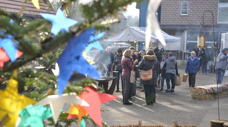 Ganz wie hier, im Jahr 2018, wird die Stimmung wohl noch nicht sein. Dennoch hofft der Buechehof auf regen Besuch des diesjährigen Weihnachtsmarktes im November. (Zvg /Archiv)
