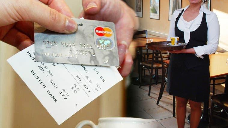 In sieben von acht befragten Restaurants bezahlen seit der Pandemie über die Hälfte der Gäste mit Karte. (Fabienne Arnet (Symbolbild))