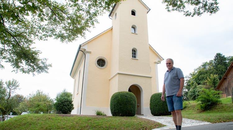 Die Kapelle Huggerwald. (Martin Staub)