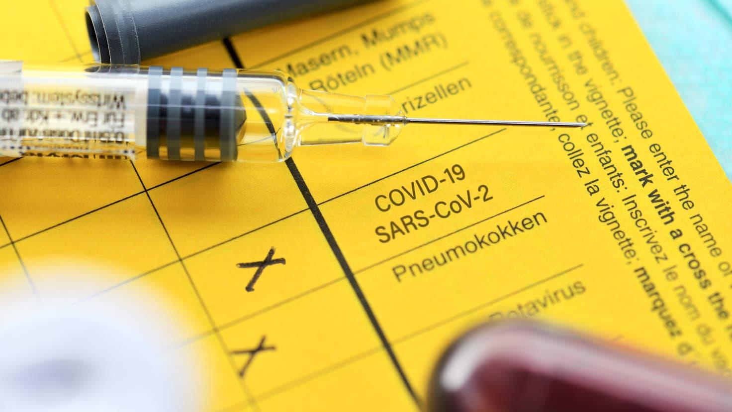 Das digitale Impfbüchlein auf der Plattform meineImpfungen.ch ist im Frühling gescheitert. (Christian Ohde)