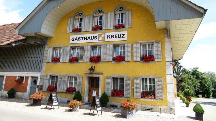 Lange Tradition: Restaurant Kreuz, Aetingen. (Rahel Meier)