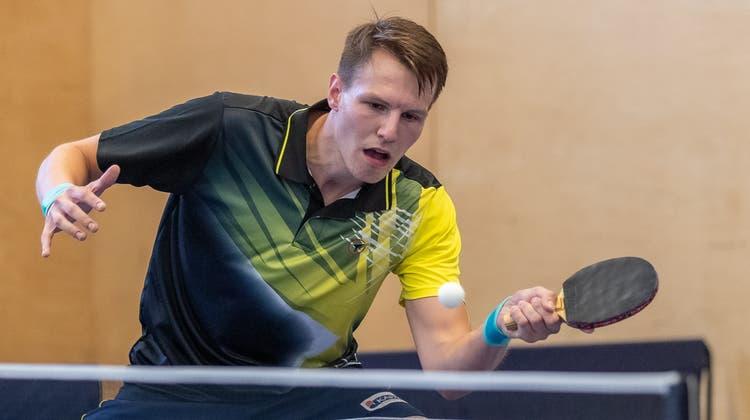 Tischtennisclub Döttingen / Meisterschaft Saison 2021–2022 / NL C; Runde 4; TTC Heimberg 1 gegen TTC Döttingen 1