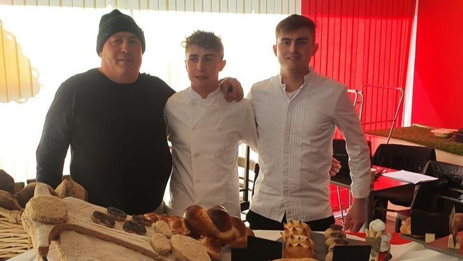 Bäcker-Dynastie: Pierluigi Ghitti und seine Söhne Enea und Paolo (v.l.) (Zvg)