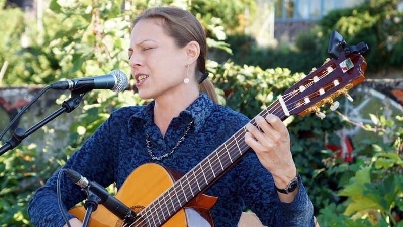 Linda Kratky bei einem Auftritt in Baden im Jahr 2015. (ubu/ Archiv))