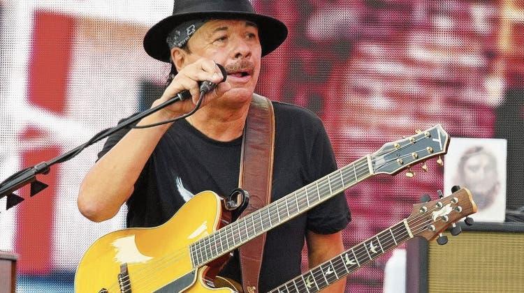 Gitarrengott Carlos Santana im Interview: «Ich will zurück ins Radio»