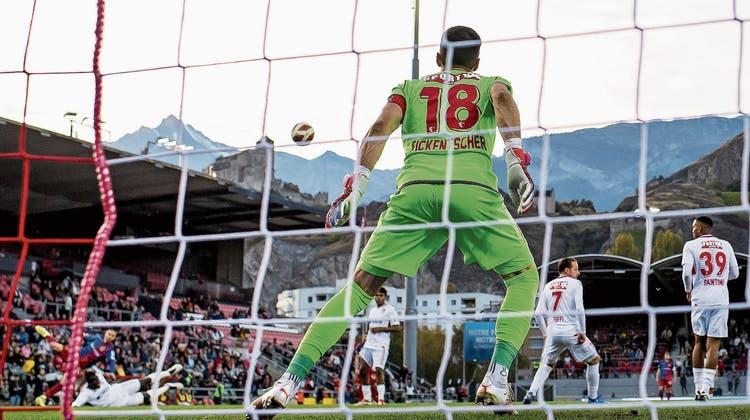 Ein Kunstwerk als Lucky Punch: Der FCB gewinnt in Sion in allerletzter Minute