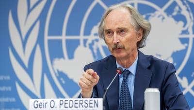 Der UN-Syrien-Beauftragte Geir Pedersen. (Keystone)