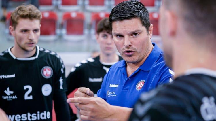 Aleksandar Stevic wird seine Arbeit beim HSC Suhr Aarau am heutigen Montag aufnehmen. (Freshfocus)