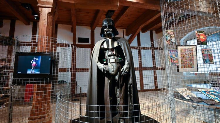 Sonderausstellung Museum Altes Zeughaus Film Props, Im Bild: Darth Vader. (Oliver Menge)