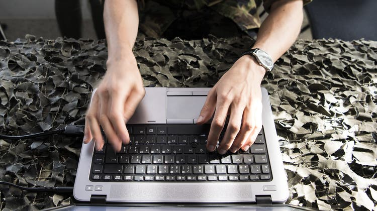 Der Kanton St.Gallen wurde erneut Opfer eines Cyberangriffs. (Keystone)