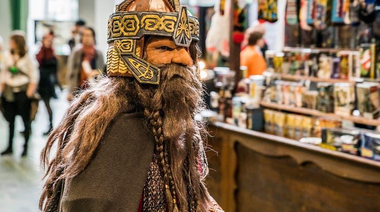 Wie an der Fantasy Basel (hier ein Bild aus dem Jahr 2019) hofft man sich auch in Solothurn, dass einige Besucherinnen und Besucher kostümiert kommen. (Kenneth Nars)