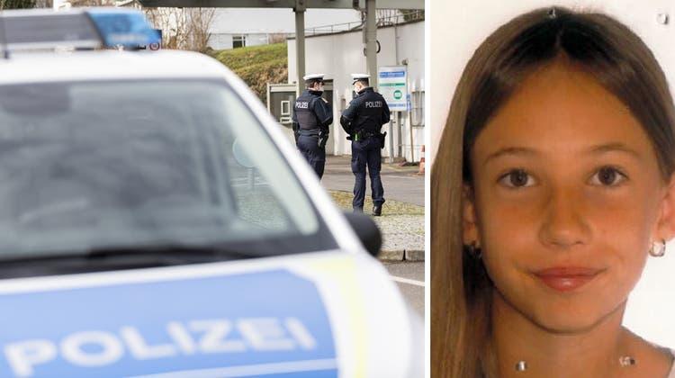 Mit diesem Bild fahndet die Polizei nach der Elfjährigen. (Keystone)