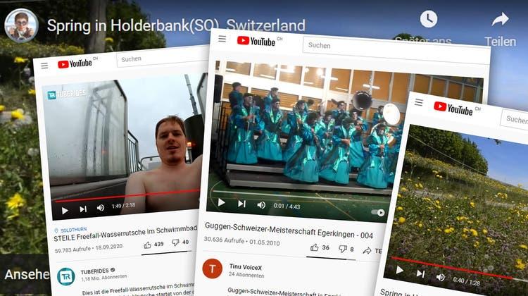 Die Gäuer und Thaler mögen Jodelklänge, Zugfahrten und Turndarbietungen – was Youtube über das Thal-Gäu verrät