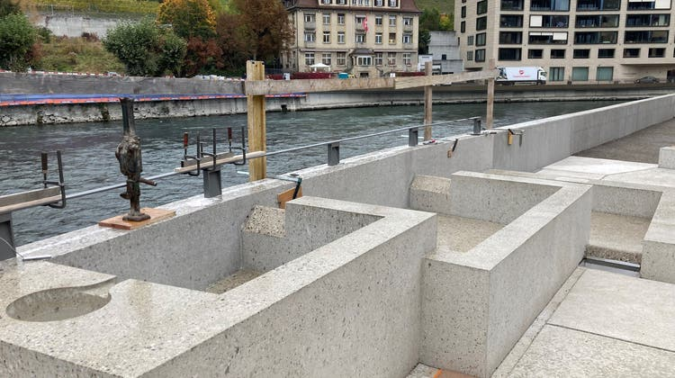 160 Meter lang: Die Wellness-Therme Fortyseven in Baden. (Alex Spichale)