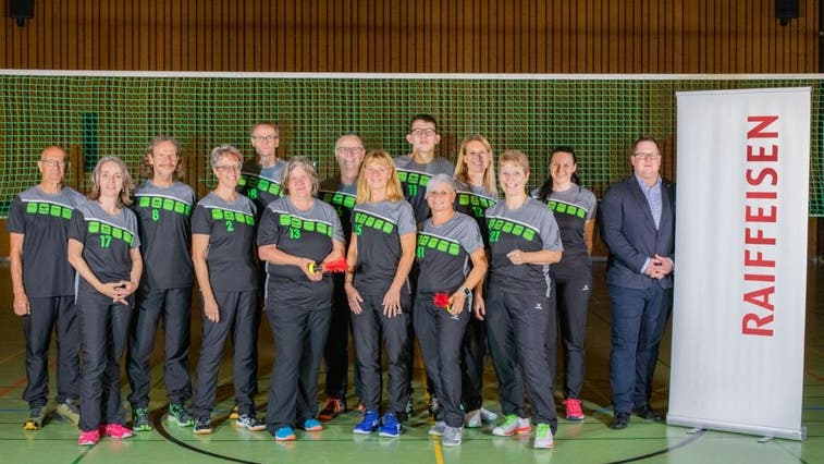 Indiaca Gruppe Starrkirch-Wil in neuem Dress