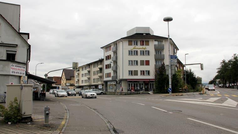 Die Ecke Buchserstrasse/Aarauerstrasse. (Daniel Vizentini)