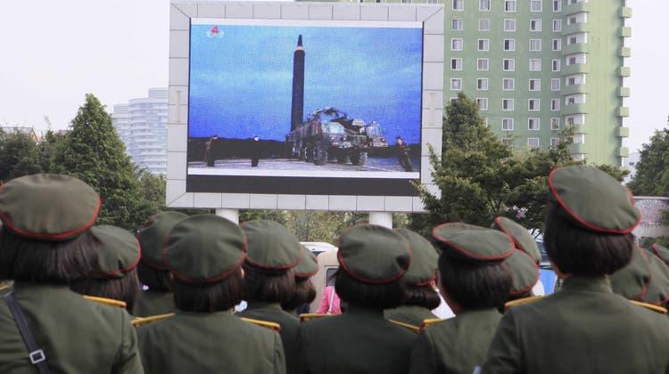 Nordkorea ist wegen seines Atomwaffenprogramms internationalen Sanktionen unterworfen. (Archivbild) (Keystone)