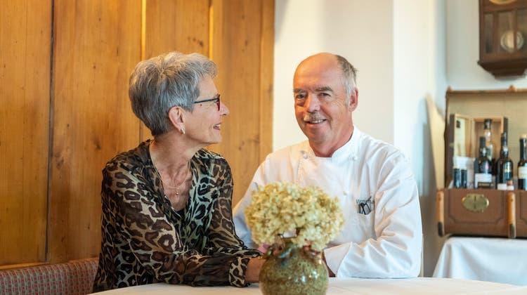 Vor 20 Jahren sind Barbara und Werner Nöckl nach Lömmenschwil gekommen. (Bild: Andrea Stalder (19. Oktober 2021))