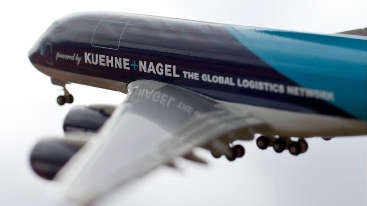 Kühne+Nagel profitiert unter anderem von einem Deal mit dem Impfstoffhersteller Moderna. (Symbolbild) (Keystone)