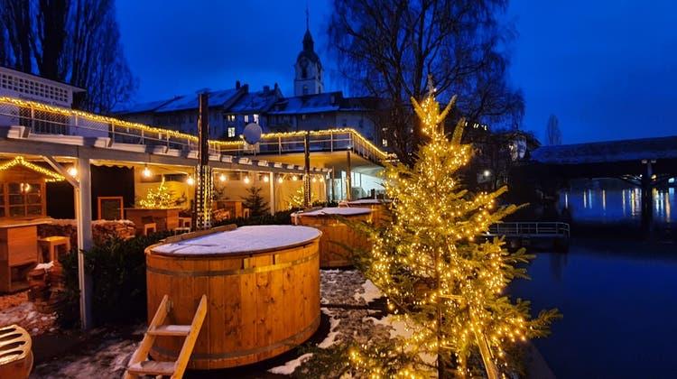 Im Oltner Badi-Restaurant wird es auch dieses Jahr kuschlig warm. (Zvg)