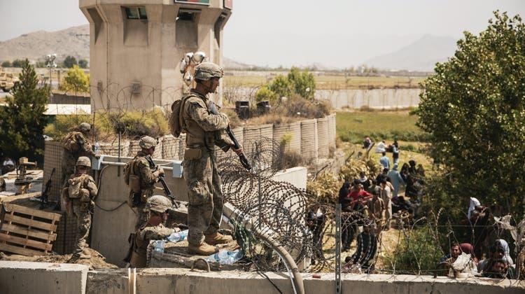 Der Abzug aus Afghanistan hat die Regierung von Biden schwer unter Druck gesetzt. (Keystone)
