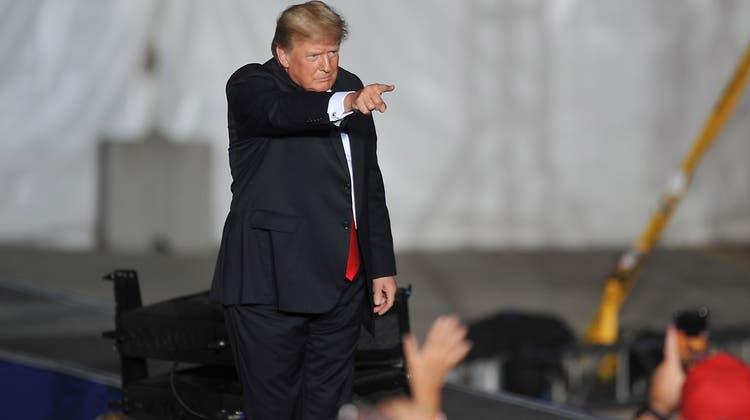 Trumps Anwalt hat eine Klage eingereicht. (Keystone)