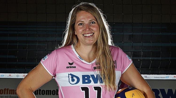 Sarah van Rooij spielt am Mittwoch mit Sm'Aesch gegen ihren alten Verein Cheseaux. (Bild: zVg/ Roger Schaffner)