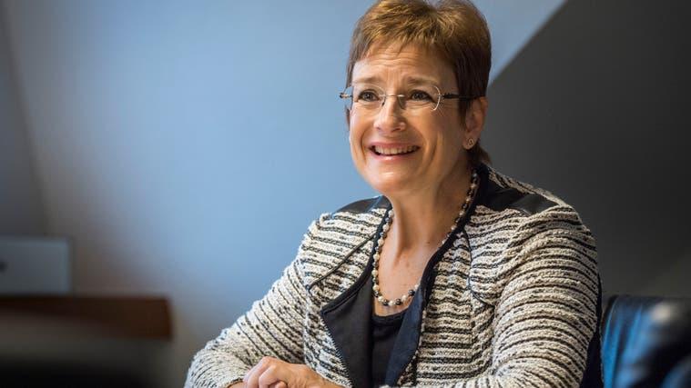 Jacqueline Müller, seit 2007 ist sie Gemeindepräsidentin von Pfyn. (Bild: Andrea Stalder)