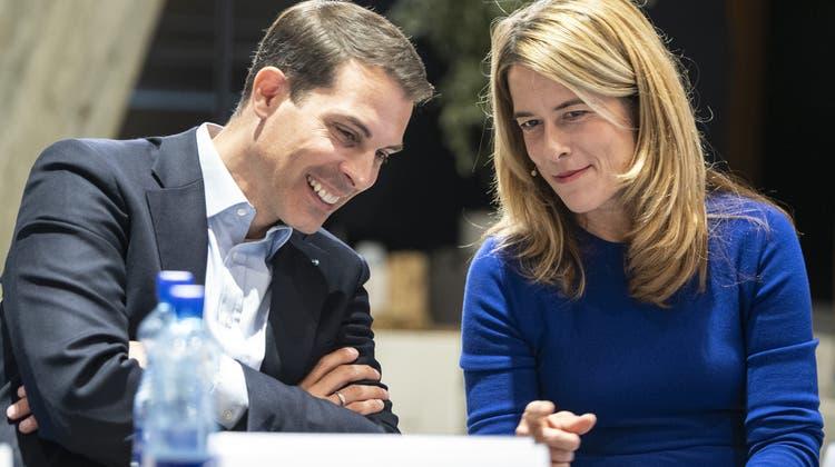 Der Aargauer Ständerat Thierry Burkart soll als neuer Parteipräsident den Freisinn in eine erfolgreiche Zukunft führen. Er tritt die Nachfolge von Petra Gössi an. (Keystone)
