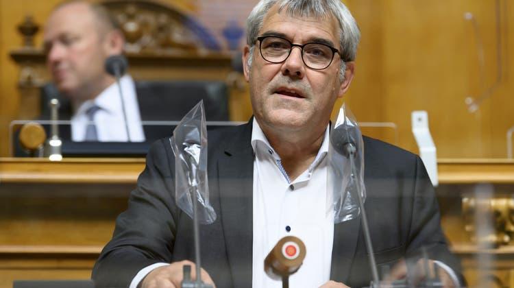 Eric Nussbaumer, SP-BL: Die Aussenpolitik ist sein Steckenpferd. (Anthony Anex / KEYSTONE)