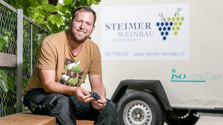 Der Winzer Christian Steimerist stolz auf die Auszeichnung seiner Weine durch Gault Millau. (Sandra Ardizzone)