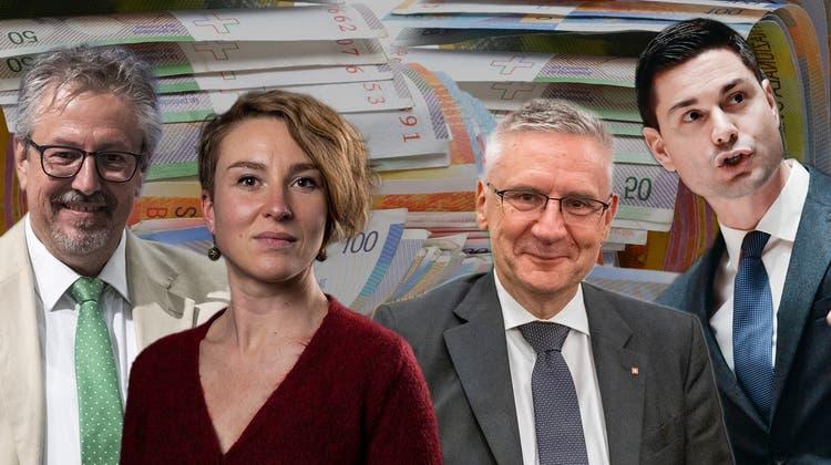 SVP-Kantonalpräsident Andreas Glarner. (Alex Spichale / AGR)