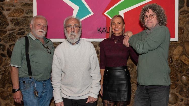 ChristofVonlanthen, Rolf Rickenbacher, Sigrid Lux, Daniel Trutt von Jazz im Chutz (Carole Lauener)